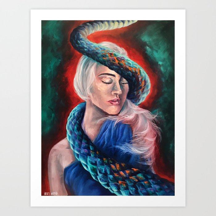 """Lilith"" Painting Art Print"