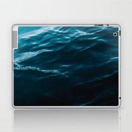 Minimalist blue water surface texture - oceanscape Laptop & iPad Skin