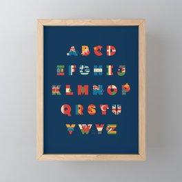The Alflaget 3 Framed Mini Art Print