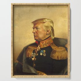 Donald Trump - replaceface Serving Tray