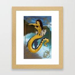 Scylla Framed Art Print