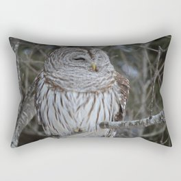 Barred Owl Rectangular Pillow