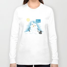 Snow Body Loves Me Long Sleeve T-shirt