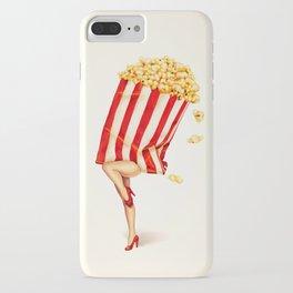 Popcorn Girl iPhone Case