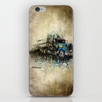 truck iPhone & iPod Skins featuring Truck by Svetlana Sewell