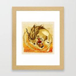 The Heart's Guard Framed Art Print