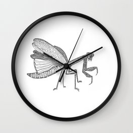 Mantis, One Liner. Wall Clock