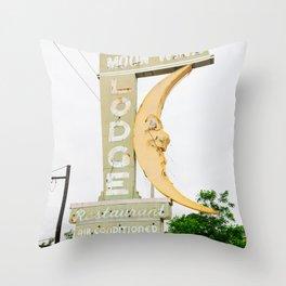 Alabama Architecture X Throw Pillow