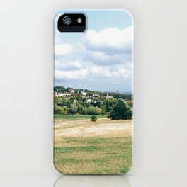 View from Parliament Hill in London iPhone Case
