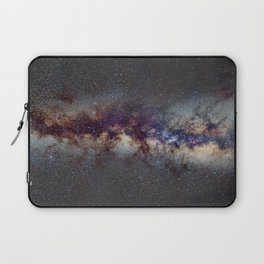 The Milky Way: from Scorpio, Antares and Sagitarius to Scutum and Cygnus Laptop Sleeve