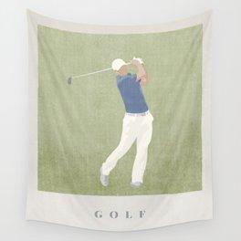 SUMMER GAMES / Golf Wall Tapestry