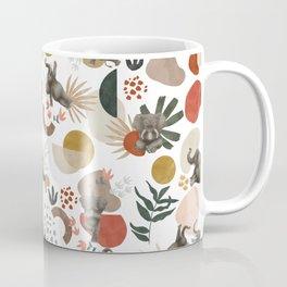 Elephant yoga 01 Coffee Mug