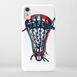 Lacrosse Vote Flow iPhone Case
