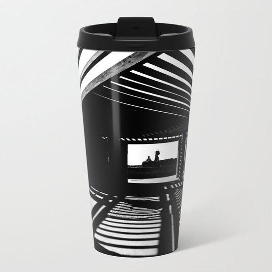 Shadows and Light Metal Travel Mug