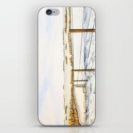 Alberta Prairie winter landscape iPhone Skin