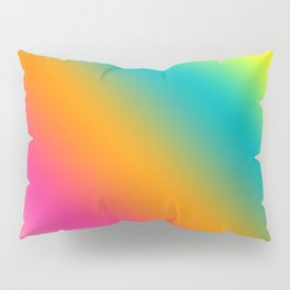 Blended Rainbow Time To Feel Good Pillow Sham