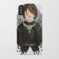arya stark iPhone & iPod Cases featuring Arya Stark by itsamoose