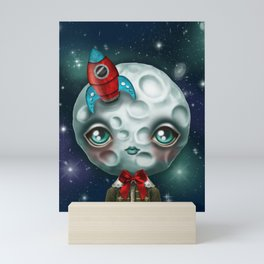 Moon Boy Mini Art Print