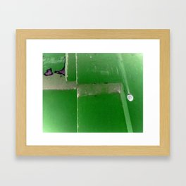 The Cliff Framed Art Print