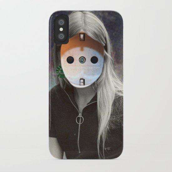 Plug & Play Woman - Model: Busch Jaeger iPhone Case