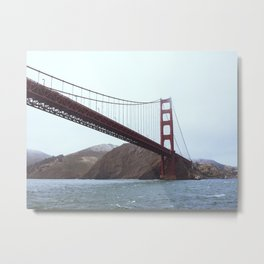 Red Bridge I Metal Print