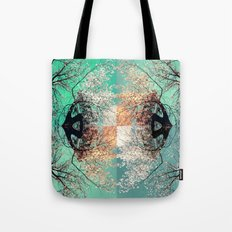 autumn tree - vessel pattern 2 Tote Bag