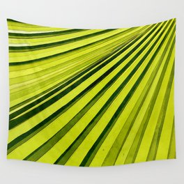 Green Palm Frond Wall Tapestry