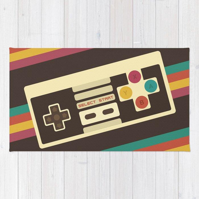 Retro Video Game 2 Rug