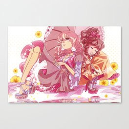 Buttercup Lolita Canvas Print