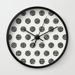 You've gone dotty Wall Clock