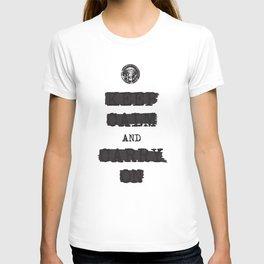 redacted. T-shirt