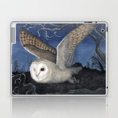 Barn Owl at Night Laptop & iPad Skin