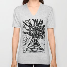 The Eye of Nature Unisex V-Neck