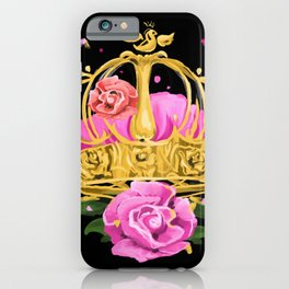 Queen crown iPhone Case