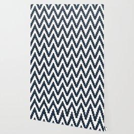 Twine in Navy Blue Wallpaper