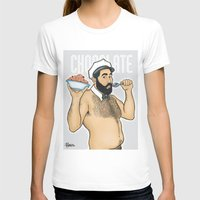 chocolate T-shirts featuring Chocolate by Pablito