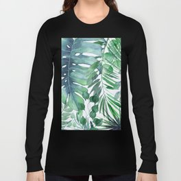 Tropical  Leaves Long Sleeve T-shirt
