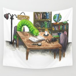 Little Worlds: The Library Wall Tapestry