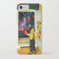 eugenia loli iPhone & iPod Cases featuring No More Galaxies for Today, Timmy! by Eugenia Loli