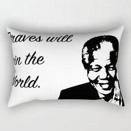 President M. Rectangular Pillow