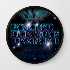 Unlimited Dimensions Department Wall Clock