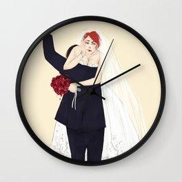 BuckyNat Wedding Wall Clock