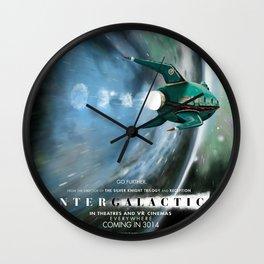 Intergalactic Wall Clock