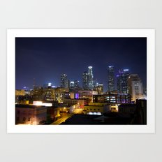 Photography in Downtown. Art Print