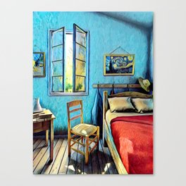 The Bedroom Canvas Print