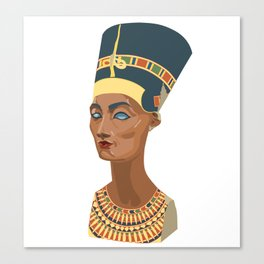 nefertiti bust Canvas Print