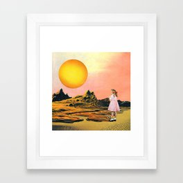 Inter-Dimensional Line Framed Art Print