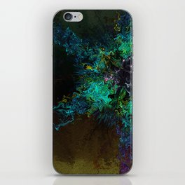 Alien Rose iPhone Skin