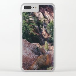Little Grand Canyon Clear iPhone Case