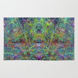 Con-Tici Cosmogenesis (abstract, psychedelic, visionary) Rug